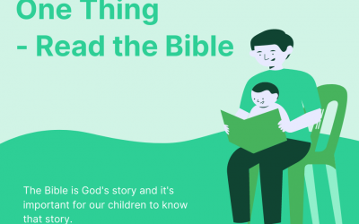 One Thing – Read the Bible